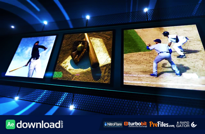 sports show motion array free download free after effects