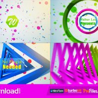 Shape Logo Reveal 5 In 1- (VIDEOHIVE TEMPLATE) – FREE DOWNLOAD