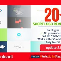 SHORT LOGO REVEAL PACK (VIDEOHIVE PROJECT) – FREE DOWNLOAD
