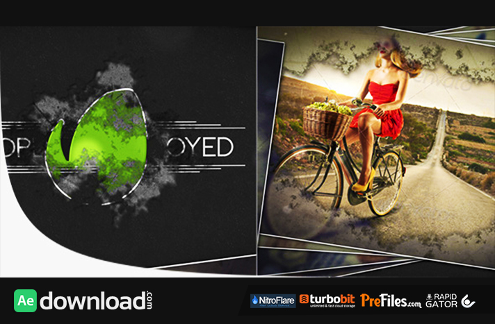 Short & Powerful Slides Free Download After Effects Templates