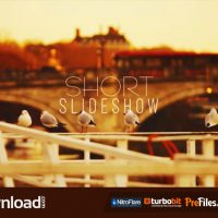 SHORT SLIDESHOW  (VIDEOHIVE TEMPLATE) FREE DOWNLOAD