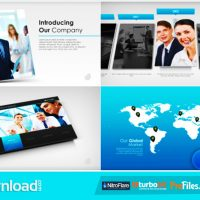 SIMPLE COMPANY PRESENTATION (VIDEOHIVE PROJECT) – FREE DOWNLOAD