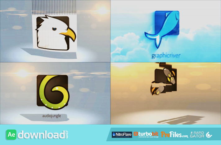 Simple Logo Reveal Pack Free Download After Effects Templates