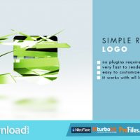 SIMPLE RIBBON LOGO (VIDEOHIVE) – FREE DOWNLOAD