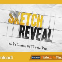 SKETCH REVEAL (VIDEOHIVE) – FREE DOWNLOAD