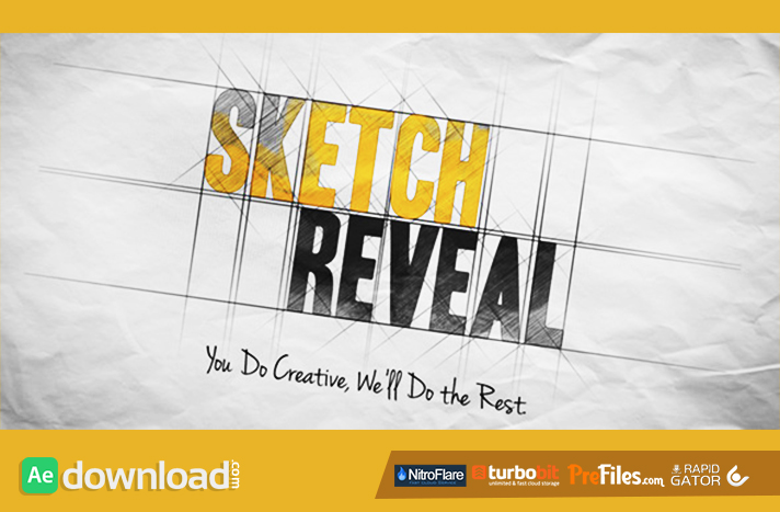 Sketch Reveal Videohive Free Download Free After