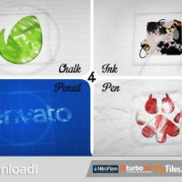 SKETCH AND INK LOGO (VIDEOHIVE) – FREE DOWNLOAD