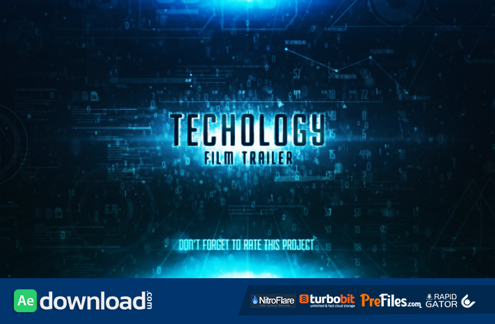 sky technology film trailer free download after effects templates
