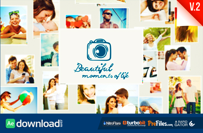 SlideShow Beautiful Moments of Life Free Download After Effects Templates