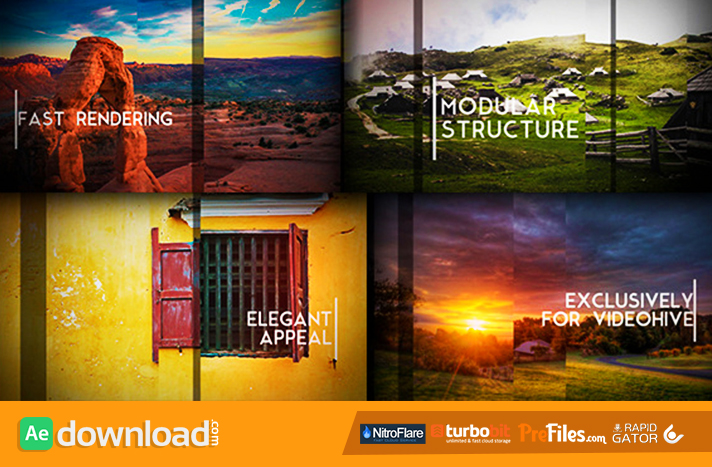 Sliding Slides Free Download After Effects Templates