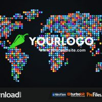 SOCIAL WORLD-MAP (VIDEOHIVE) – FREE DOWNLOAD