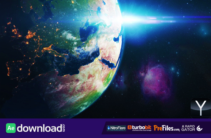 Solar Planets Space Pack Free Download After Effects Templates