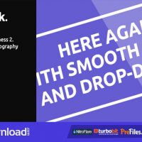 VIDEOHIVE SPORT KINETIC TYPOGRAPHY – MINIMAL QUICK BUSINESS 2