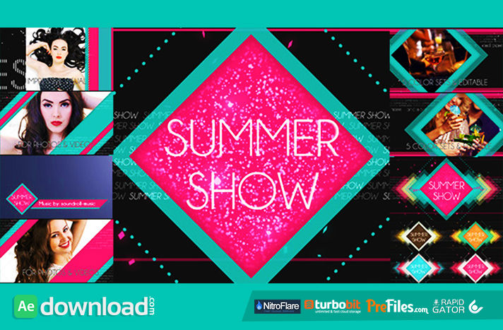 Summer Show Package Free Download After Effects Templates