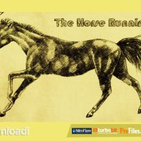 THE HORSE RUNNING (VIDEOHIVE) – FREE DOWNLOAD