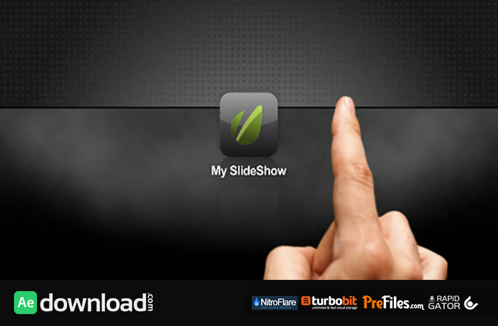 Tablet Photo Browser Portfolio Slideshow Free Download After Effects Templates
