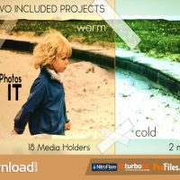 VIDEOHIVE TAPE IT OLD BURNED PHOTO LOOK – FREE DOWNLOAD