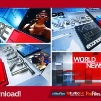 TELEVISION BROADCAST NEWS PACK (VIDEOHIVE TEMPLATE) FREE DOWNLOAD