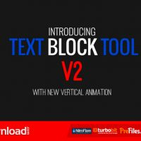 TEXT BLOCK TOOL (VIDEOHIVE) – FREE DOWNLOAD