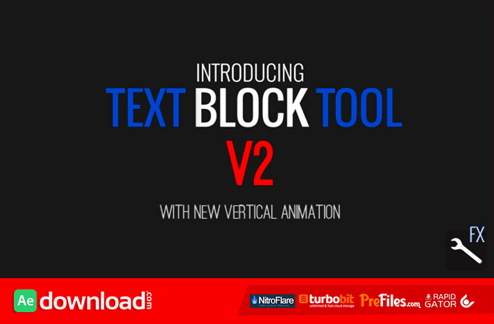 Text Block Tool Free Download After Effects Templates