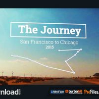 THE JOURNEY MAP SLIDESHOW (VIDEOHIVE) – FREE DOWNLOAD