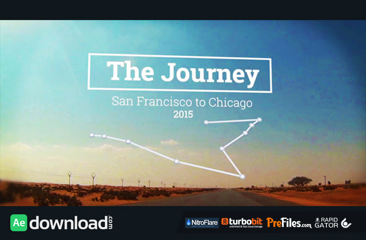 The Journey Map Slideshow Free Download After Effects Templates