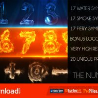 THE NUMBERS – VIDEOHIVE TEMPLATE – FREE DOWNLOAD