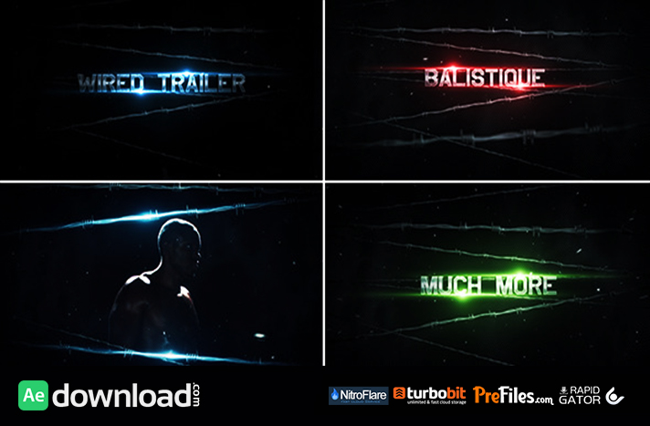 Videohive the wired trailer free download free after for Aep templates free download