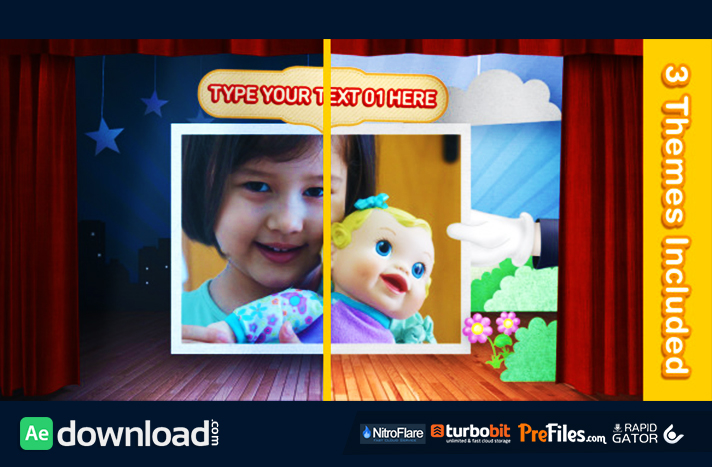 Theater For Kids Free Download After Effects Templates