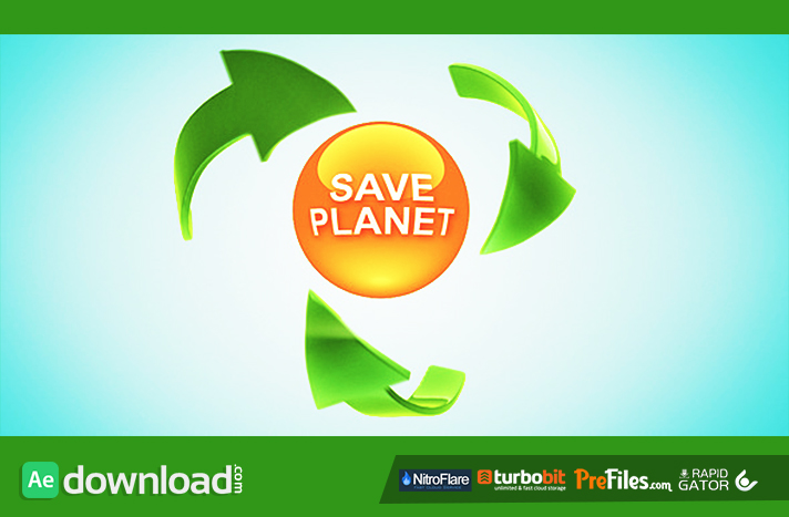Think Green Free Download After Effects Templates