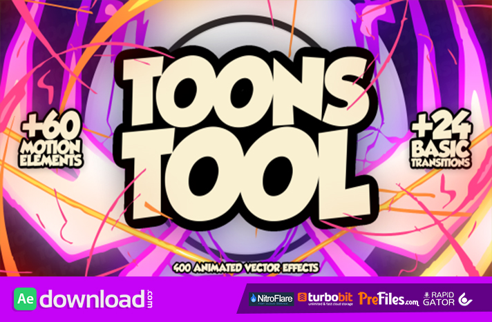 ToonsTool (FX Kit) free videohive template download