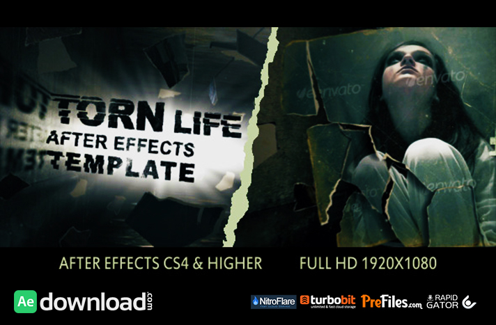 Torn Life Free Download After Effects Templates
