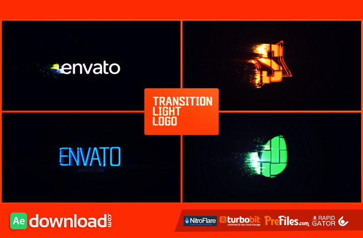 Transition Light Logo Free Download After Effects Templates