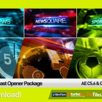 TRIO BROADCAST OPENERS PACKAGE (VIDEOHIVE PROJECT) – FREE DOWNLOAD