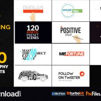 TYPOKING | PACK OF TITLES & TYPOS (VIDEOHIVE PROJECT) – FREE DOWNLOAD