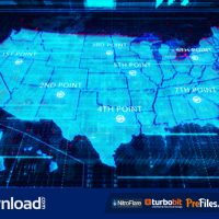 USA MAP (VIDEOHIVE) – FREE DOWNLOAD