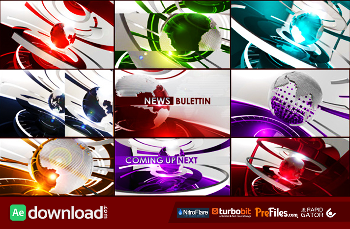 Ultimate Broadcast News Package Free Download After Effects Templates