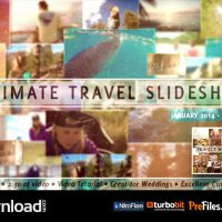 VIDEOHIVE ULTIMATE TRAVEL SLIDESHOW – FREE DOWNLOAD