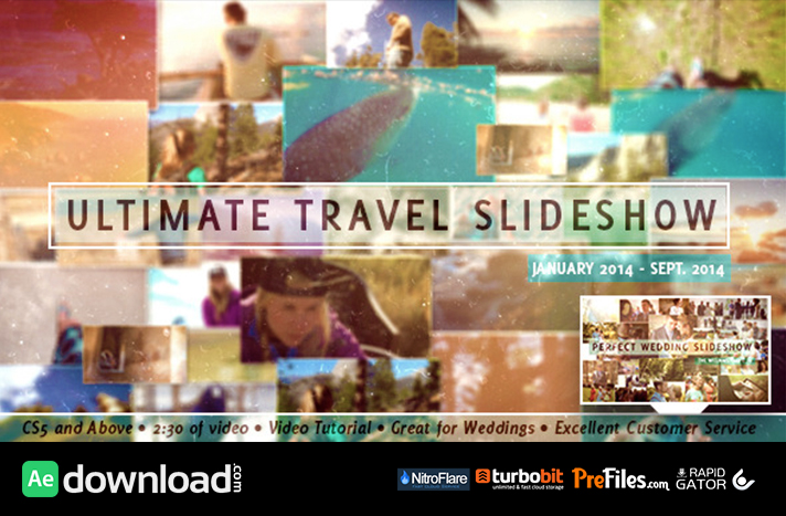 VIDEOHIVE ULTIMATE TRAVEL SLIDESHOW - FREE DOWNLOAD - Free