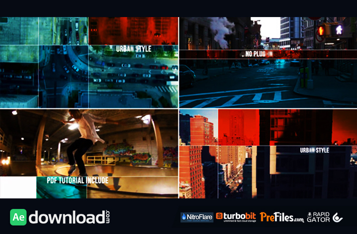 urban style dynamic opener videohive project free download