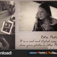 VIDEOHIVE RETRO POSTCARDS – FREE DOWNLOAD