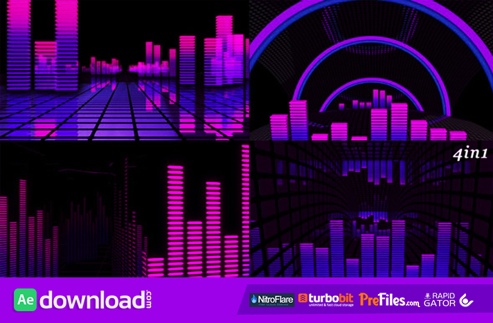 VJ Equalizer Free Download After Effects Templates