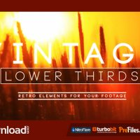 VINTAGE LOWER THIRD (VIDEOHIVE) – FREE DOWNLOAD