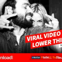 VIRAL VIDEO LOWER THIRDS TEMPLATE (VIDEOHIVE PROJECT) – FREE DOWNLOAD