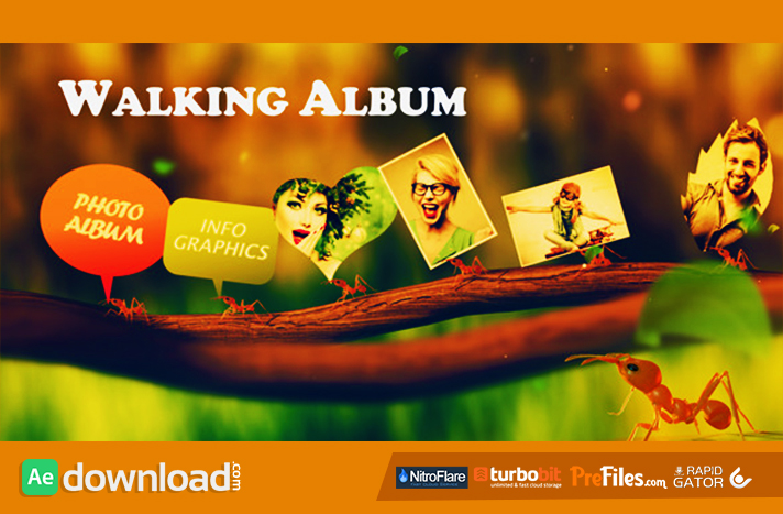 Walking Al Free After Effects Templates