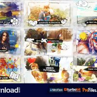 WATERCOLOR & DOODLES SLIDESHOW  (VIDEOHIVE PROJECTS) – FREE DOWNLOAD
