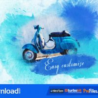 WATERCOLOR SLIDESHOW (VIDEOHIVE) – FREE DOWNLOAD