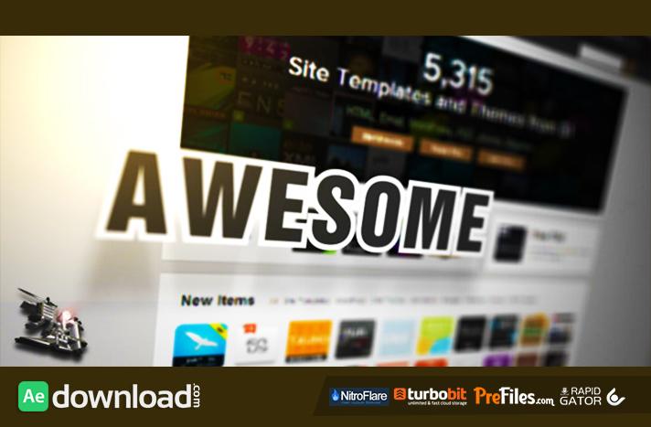 WEBSITE/WEBPAGE/WORDPRESS PROMOTION (VIDEOHIVE) - FREE DOWNLOAD ...