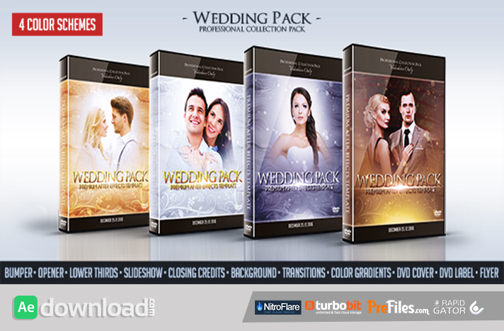 Wedding Pack Free Download After Effects Templates