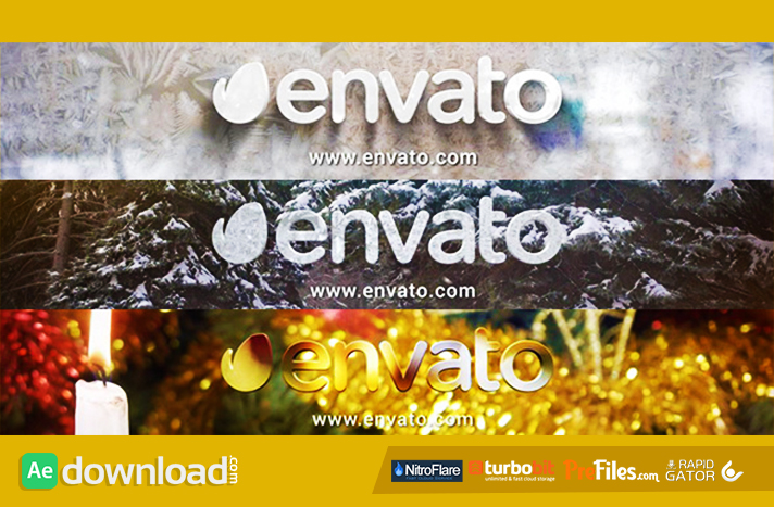 Winter Logo Pack Free Download After Effects Templates
